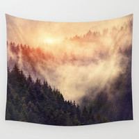 In My Other World Wall Tapestry by Tordis Kayma