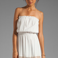 6 SHORE ROAD Charlotte's Maxi Dress in Ivory