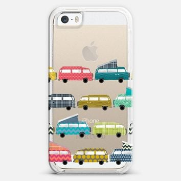 geo campers transparent iPhone 5s case by Sharon Turner | Casetify ~  get $5 off using code: 5A7DC3