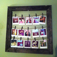 COMBINATION- Photo Frame & Wood Photo