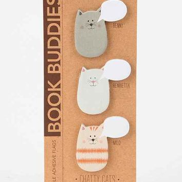 Book Buddies Sticky Notes - Set Of 3- Cat One