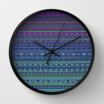 SUMMER NIGHTS Wall Clock by Nika