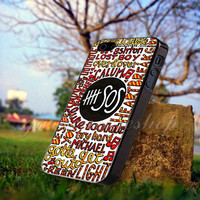 5sos 5 seconds of summer - for iPhone 4/4s, iPhone 5/5S/5C, Samsung S3 i9300, Samsung S4 i9500 Hard Case *GARDENCASESHOP*