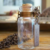 Glass Vial Necklace Glass Bottle Necklace Make a by KarmaBeads