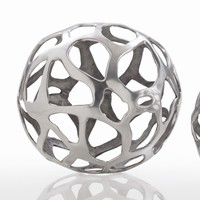 ARTERIORS Home Ennis Web Sphere in Polished Nickel