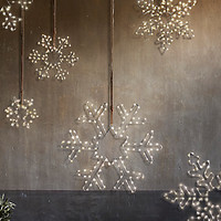 Starry Lights Snowflakes | Restoration Hardware