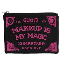 Ouija Make Up Bag