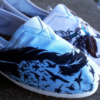 cuStOMiZed TOMS by rightBrainedHippie on Etsy