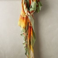 Prairie Scarf by Flappers Yellow One Size Scarves