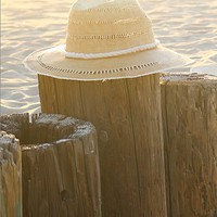 Free People Womens Ombre Straw Rancher Hat - Toasted Almond, One