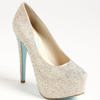 Blue by Betsey Johnson 'Wish' Pump