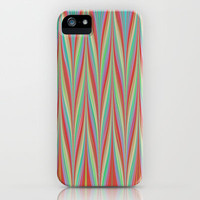 Chevron High iPhone & iPod Case by Ally Coxon