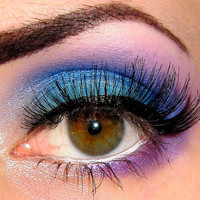 Get this look 4 pc set (Blue Grotto, Capri, Shacked Up, Spectacle) Eyeshadow Mineral makeup Eye shadow Eyeliner (5g)
