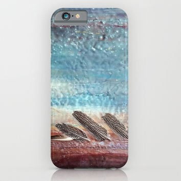 Fear of Flying iPhone & iPod Case by Brenda Erickson
