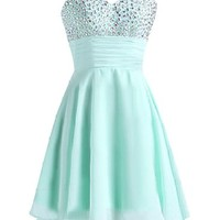 Sunvary Women's Mermaid Party Dresses Gowns Sequins Pleat