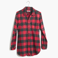 Flannel Cargo Workshirt in Buffalo Check