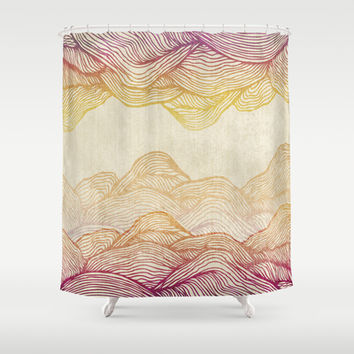 Reflection  Shower Curtain by Rskinner1122