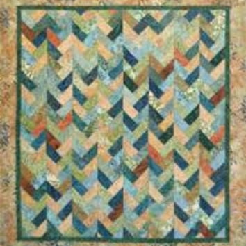 Braids on Parade Quilt Pattern by Far-Flung Quilts