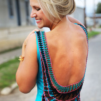 Cabo Nights Maxi {Turquoise}