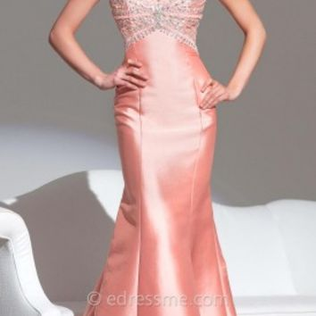 Radial Mikado Prom Gown by Tony Bowls Le Gala