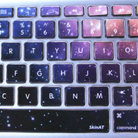 Universe Star-Macbook Keyboard Decal/Macbook Pro Keyboard Skin/Macbook Air Sticker/Macbook vinyl sticker