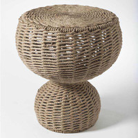 Rope Stool - Side Table