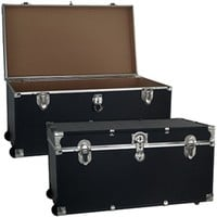 The College Dorm Room Trooper Trunk - With Wheels - Cheap Essentials Dorm Room Storage Options