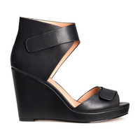 H&M Wedge-heeled Sandals $39.95