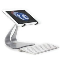 Thought Out Stabile PRO Pivoting iPad Stand - Silver