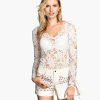 H&M Lace Top $24.95