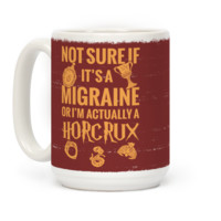 Not Sure If It's A Migraine Or I'm Actually A Horcrux