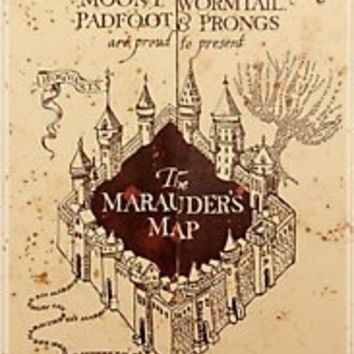 """""""Marauders Map Iphone Case"""" iPhone & iPod Cases by Rachel Miller   RedBubble"""