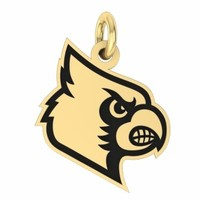 Buy Louisville Cardinals 14K Yellow Gold College Charms and Jewelry, Get Fast Free Shipping