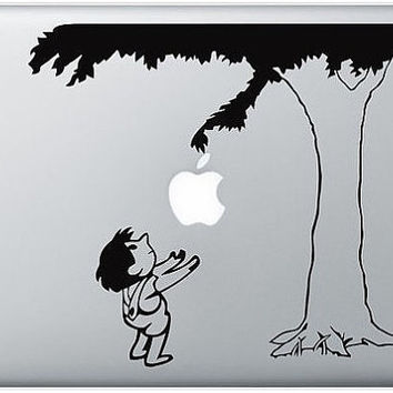 giving tree macbook decal macbook sticker ipad decal by moser76
