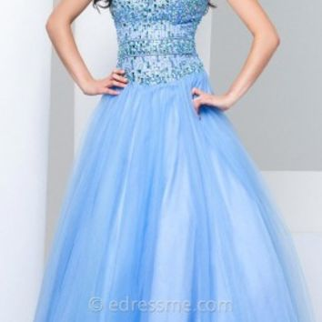 Sweetheart Tulle Prom Gown by Tony Bowls Le Gala