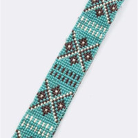 Tribal Beaded Headband - Little Nook