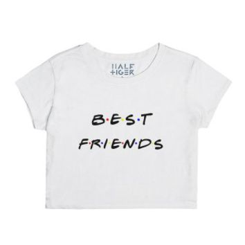 Best Friends-Unisex Snow T-Shirt