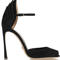 Sergio Rossi - Folded suede pumps