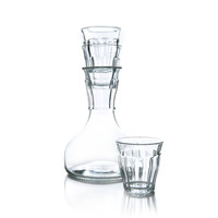 French Decanter + Stacking Glasses - A+R Store