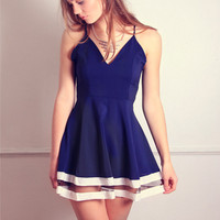 Navy Keepers Dress - Out of Stock