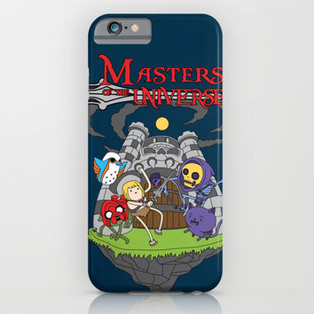 MASTER OF THE UNIVERSE iPhone & iPod Case by Maioriz Home