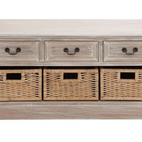 The Cool Wood 3 Basket Low Chest