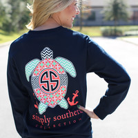 Simply Southern Long Sleeve - Long Sleeve Turtle