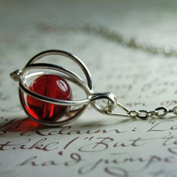 Remembrall Necklace by behindthecellardoor on Etsy