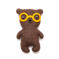 Bob the Bear Lambswool Plush Toy - Made to order