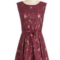 ModCloth Mid-length A-line Enthrall About It Dress