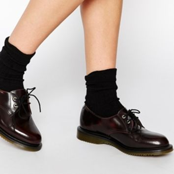 Dr Martens Kensington Brook 2-Eye Flat Shoes