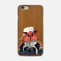 mouse cat pug transparent iPhone 6 case by Sharon Turner   Casetify