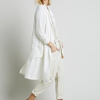 Free People Shirt Jacket Duster