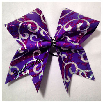 Curly Q by BowCandi on Etsy